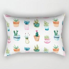 Tiny plants Rectangular Pillow