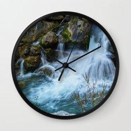 Wild water  (nameless) Wall Clock