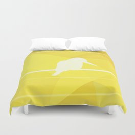 Still Lost in Thought Duvet Cover