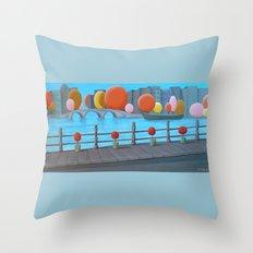 Amsterdam Daydream Throw Pillow