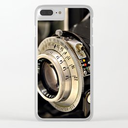 Old camera Clear iPhone Case