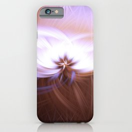 Twirling colours iPhone Case