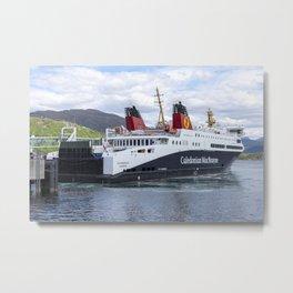 Loch Seaforth Ferry Metal Print