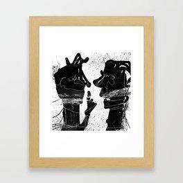 blabla Framed Art Print