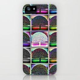 Victorian Park Tree iPhone Case