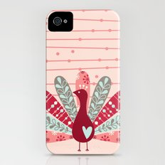 Garden Peacock Slim Case iPhone (4, 4s)