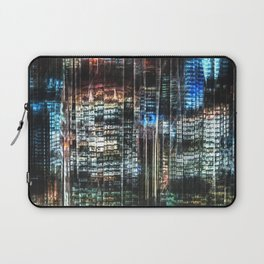 Colorful Buildings At Night Laptop Sleeve