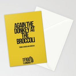 TORNA U CIUCCIO ARI VROCCOLI Stationery Cards