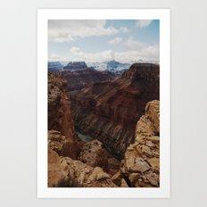 Marble Canyon Art Print