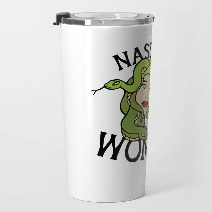 Nasty Woman Medusa Travel Mug