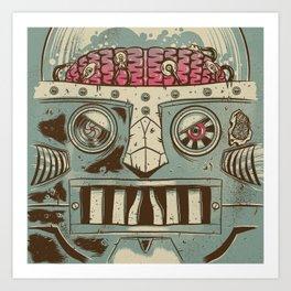 Domo Arigato Mr Roboto Art Print