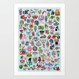 The Ultimate Collection Art Print