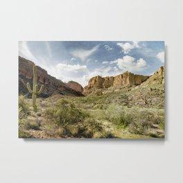 Apache Trail Metal Print