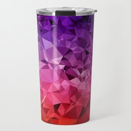 Ultra Violet Diamond Rainbow Travel Mug