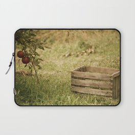 apple crate photograph Laptop Sleeve