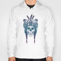 dead Hoodies featuring Dead shaman by Balazs Solti