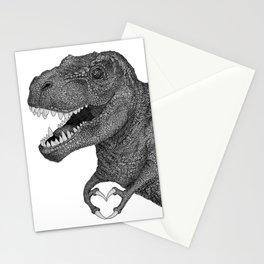 Dino Love Stationery Cards