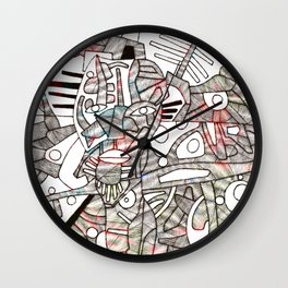 - Kate M (eroded) - Wall Clock