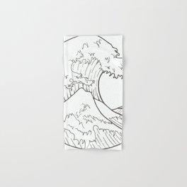 The wave of Kanagawa Hand & Bath Towel