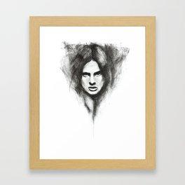 the handmaid Framed Art Print
