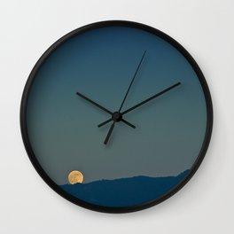 Blue Sky Moon, 2011 Wall Clock