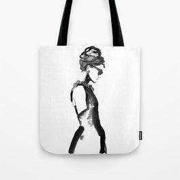 Inked Audrey Tote Bag