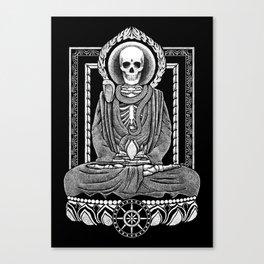Gautama Buddha and Mucalinda Canvas Print