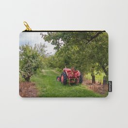 tractor in orchard Carry-All Pouch