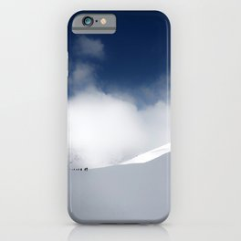White Mountain Winter iPhone Case