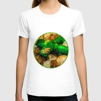 minerals T-shirts featuring EMERALDS by Catspaws