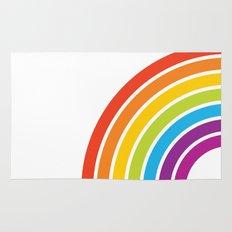 A Rainbow World Rug