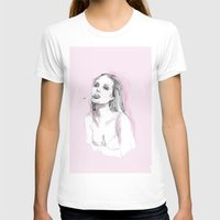angelina jolie T-shirts featuring Jolie by Fernando Monroy Robles