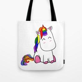Lenny the Unicorn Tote Bag