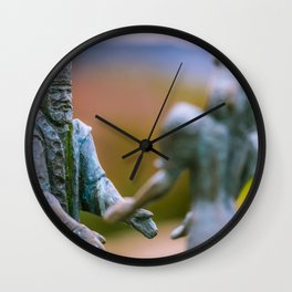 Buda and Pest Wall Clock
