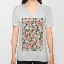 Juliet -  Romantic Roses Unisex V-Neck