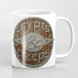 Crypts And Creeps Logo Coffee Mug