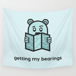 Getting My Bearings Wall Tapestry
