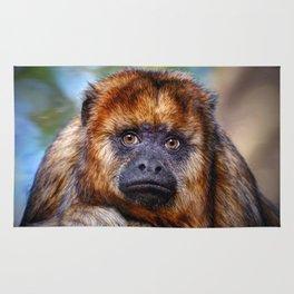 Monkey Portrait Rug