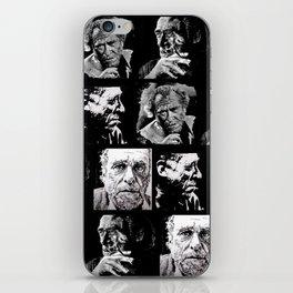 BUKOWSKI - 4 faces iPhone Skin