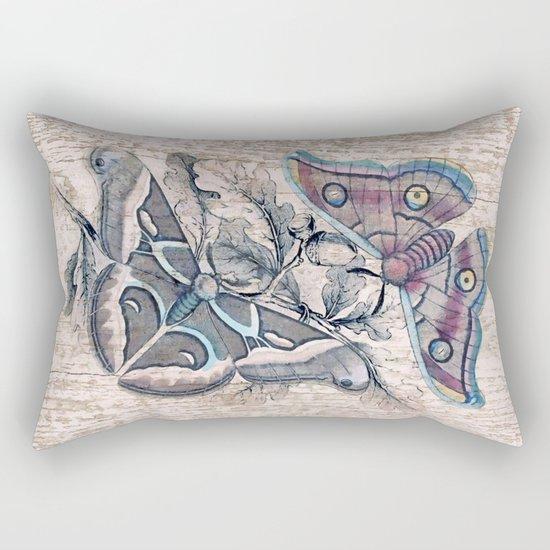 Saturnia butterflies Rectangular Pillow