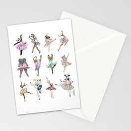 Animal Ballet Hipsters LV Stationery Cards