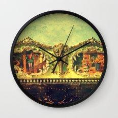 Auf dem Jahrmarkt (1) Wall Clock