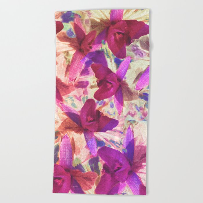 Love on Windy Hill Beach Towel