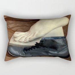 Crinkle Toes Rectangular Pillow