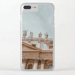 Views of Vatican City, I Clear iPhone Case