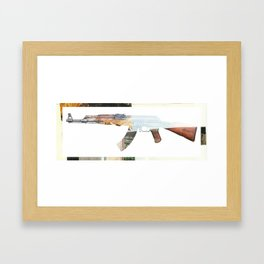 AK 47 Framed Art Print
