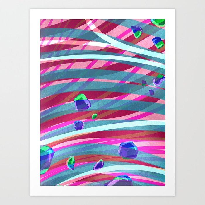 Peacefully Art Print