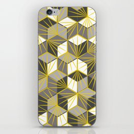 Fireworks geometric pattern iPhone Skin