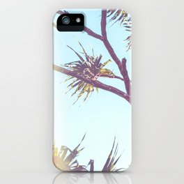 Retro Tropical Palm Tree iPhone Case