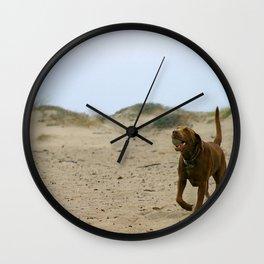 Bring The Ball Wall Clock